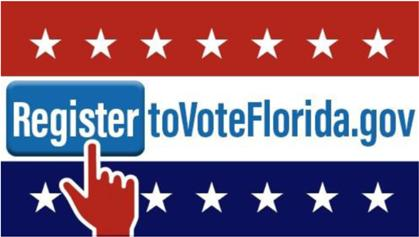 HOW TO REGISTER TO VOTE You can submit an online voter registration application through the Department of the State s website at RegisterToVoteFlorida.
