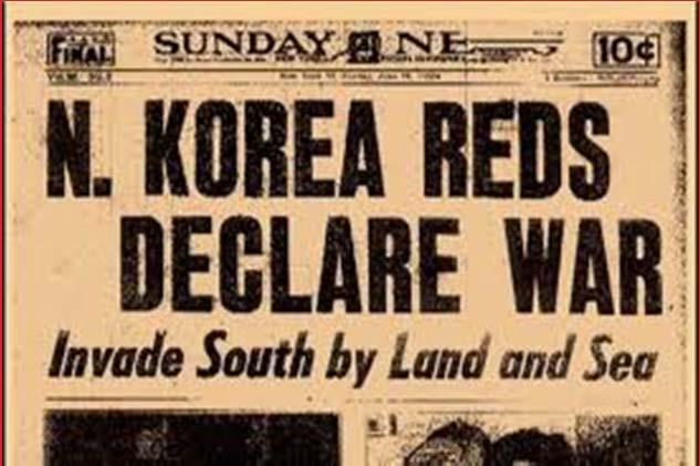 North Korea Invades South Korea On June 25, 1950, North Korean forces attacked