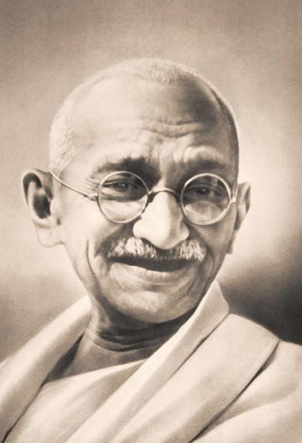 Mahatma Gandhi is known as the 'Father of India'.