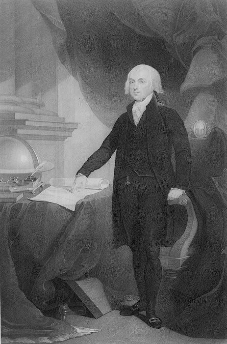 James Madison From Virginia Author of the Constitution Advocate for the Bill of Rights Leader