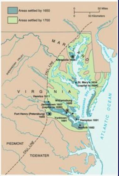 Jamestown King James I allowed the Virginia Company of London to settle in a region called Virginia. The first colonists arrived in America on April 26, 1607.