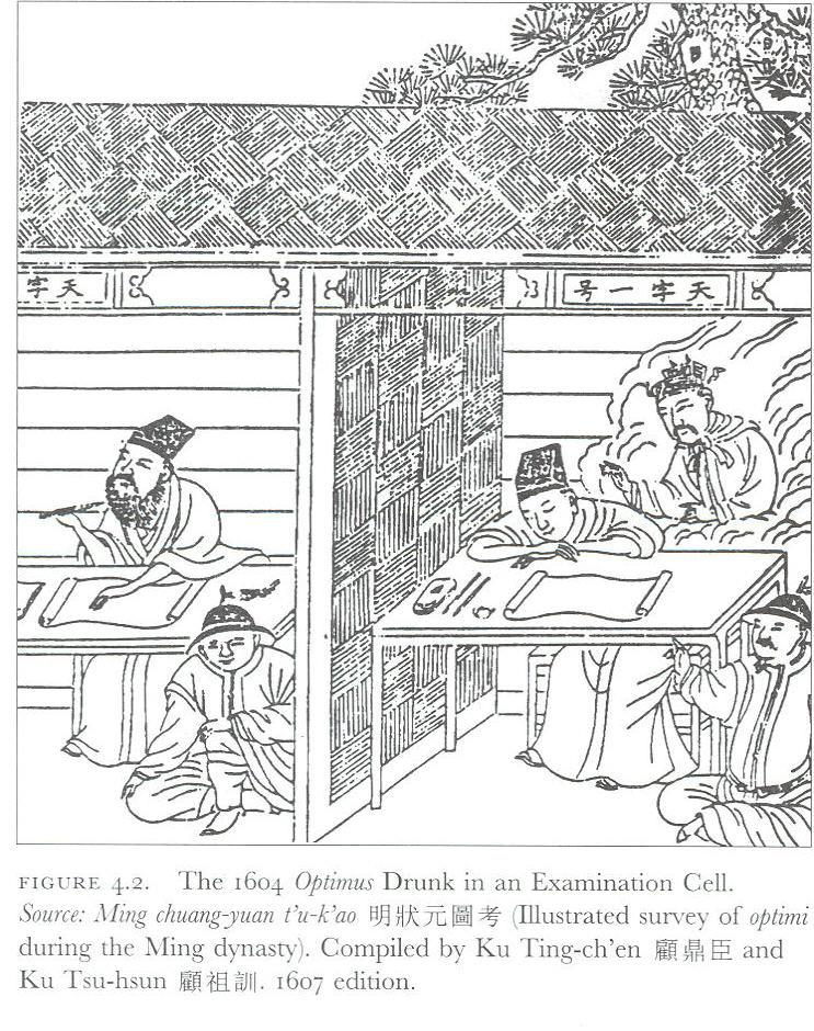 In China, civil servants were traditionally sons of nobles.