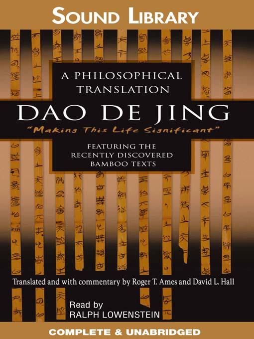 Dao De Jing Preached a return to