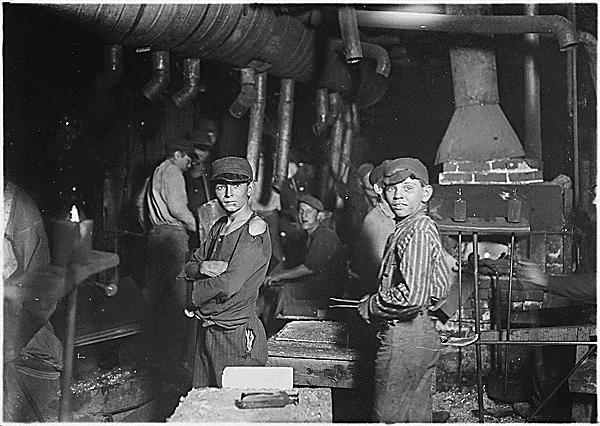 CHILD LABOR In 1908, the National Child Labor Committee assigned Lewis Hine to photograph child labor practices.