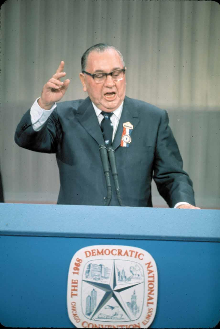 Chicago Mayor Richard J. Daley 8.