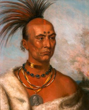by Black Hawk, the Indians went to war with the Illinois people Blackhawk was