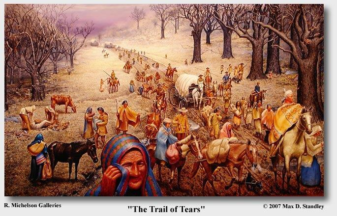The Removal of the Indians The Five Civilized Tribes The Five Civilized Tribes lived in
