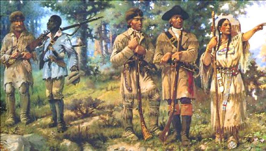 territory Jefferson sent Meriwether Lewis and William