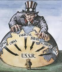 B. Policy of containment led to the Cold War: 1. a conflict between the United States and the Soviet Union a.