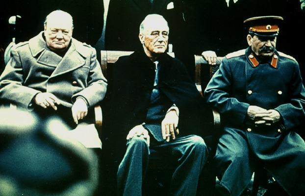 The Yalta Conference In the closing months of the war, Roosevelt, Stalin & Churchill had their final meeting To discuss the shape of postwar Europe.