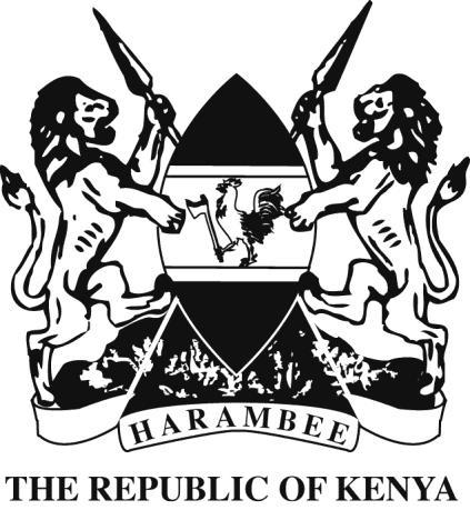 LAWS OF KENYA FISHERIES ACT CHAPTER 378 Revised Edition 2012 [1991] Published by the