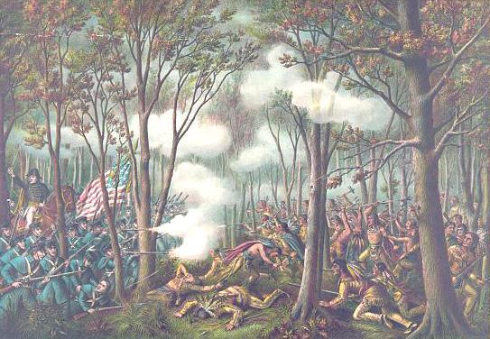 The Battle of Tippecanoe Shawnee resistance to white encroachment Tenskwatawa and Tecumseh Treaty of Ft. Wayne W.H.