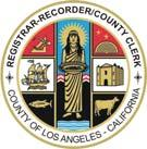 Los Angeles County Registrar-Recorder/County Clerk CALENDAR OF PRESIDENTIAL PRIMARY ELECTION FEBRUARY 5, 2008 IMPORTANT NOTICE All documents are to be filed with and duties performed by the