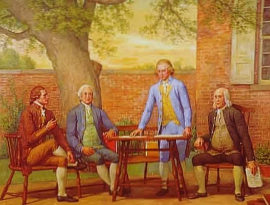 The Articles of Confederation set up a weak central government.