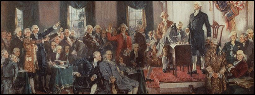 The Constitution was based on the principle of popular sovereignty, or rule by the people.