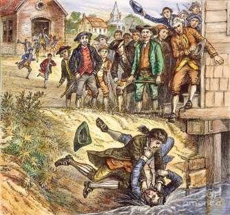 SHAYS REBELLION Impact ~ Articles of Confederation was too weak not working Congress couldn t raise taxes No branch to enforce laws All states had to