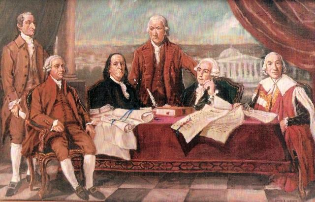 Treaty of Paris With the help of the French, and the defeat at Yorktown, the Treaty of Paris is signed in 1783.