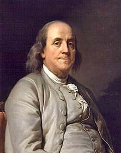Ben Franklin- @ 81 years of age he was a