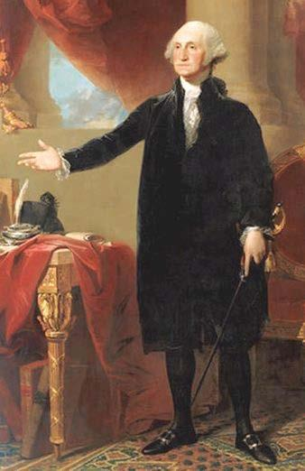 The Leader Washington is chosen, UNANIMOUSLY, to preside over the convention.