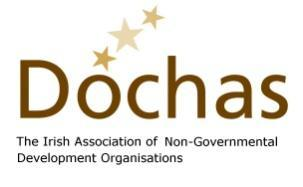 Dóchas Submission to Irish Political Parties General Election Manifestos Ireland in the World: An international development agenda for the next Irish Government August 2015 The next General election