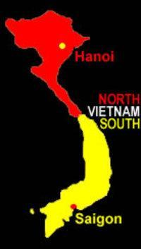 Dividing Vietnam Again in 1954 North Vietnam (Communist) Ho Chi Minh became the leader for Vietnam s independence movement Received support from the Soviet Union and Communist controlled China