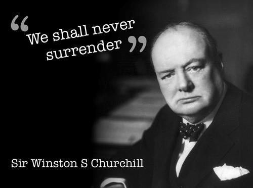 No Surrender Audio / video of Winston Churchill s famous speech