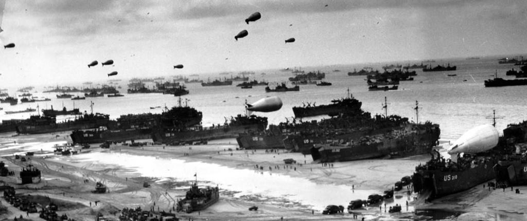 D-Day Invasion Nearly