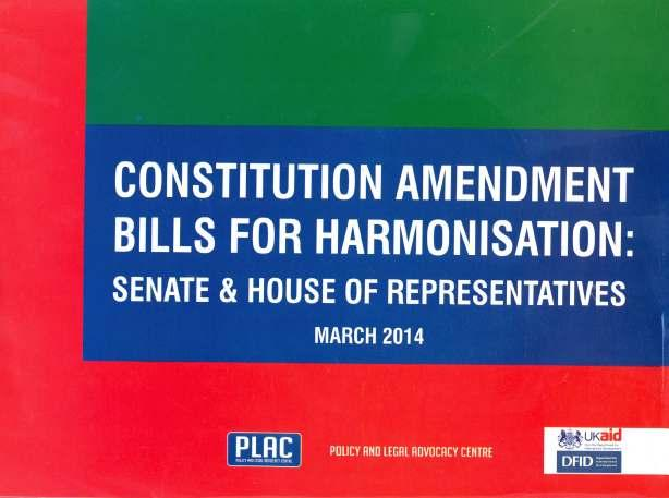 Constitution Amendment Bills