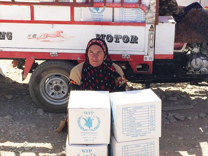 Transition to vulnerability-based targeting in the Kurdistan Region of Iraq (KRI) Aligned with WFP s mandate to assist those most vulnerable this month only refugees residing in camps who were deemed