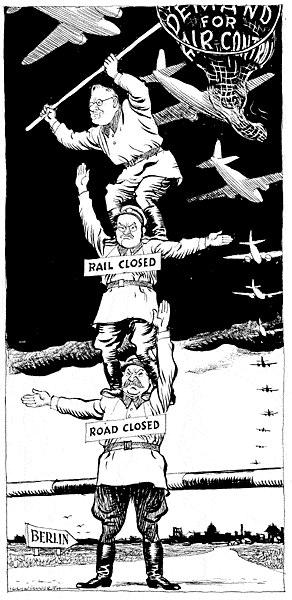 Cold War: Berlin Blockade & Airlift 1948-49 Berlin Blockade Stalin closed railways and roadways connecting West Berlin to western