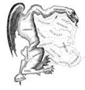 History of the term Gerrymander Governor Elbridge Gerry of Massachusetts 1812- drew districts in favor of