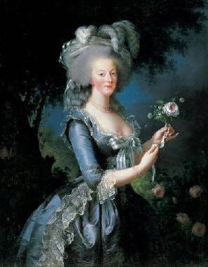Marie Antoinette Daughter of Maria Theresa and Queen of France.