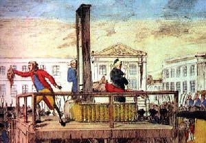 Louis XVI Put on trial as a traitor to France.