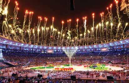 International Olympic Committee President Thomas Bach declared the Games closed to mark the official end of the 16-day sporting spectacle competed among more than 11,000 athletes from 205 countries