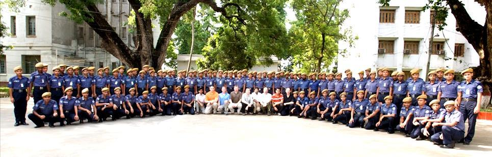 PPB team 13 with graduating classes of