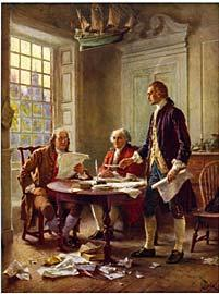June 28, 1776 The committee draft of the Declaration of Independence is read in Congress.