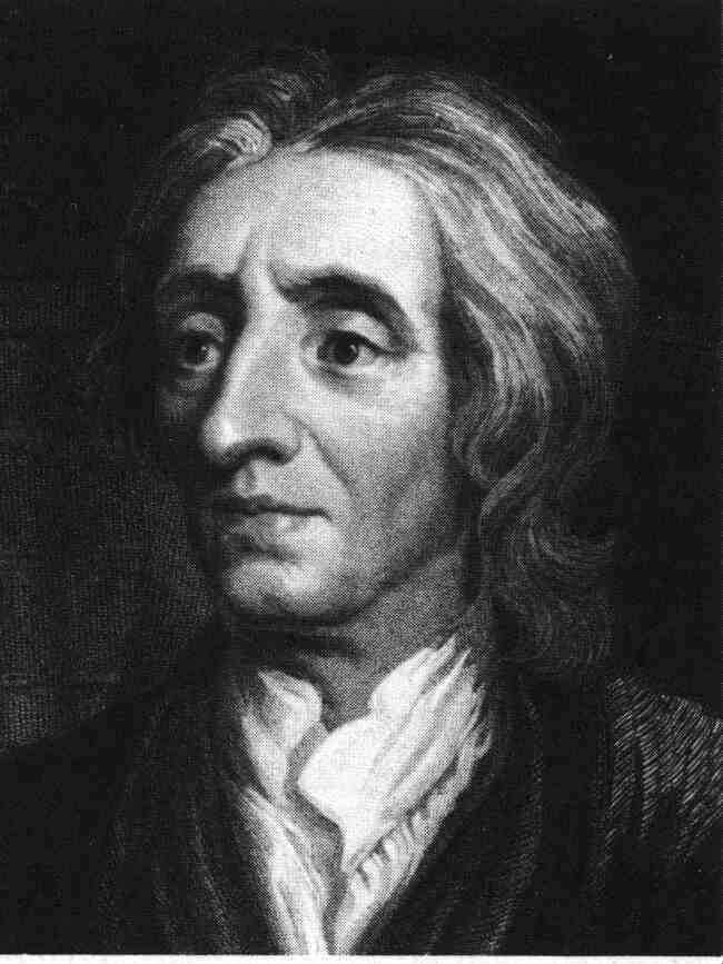 Philosophers of the Enlightenment In 1690, British philosopher John Locke published a document that maintained that government was founded on a social contract to protect the