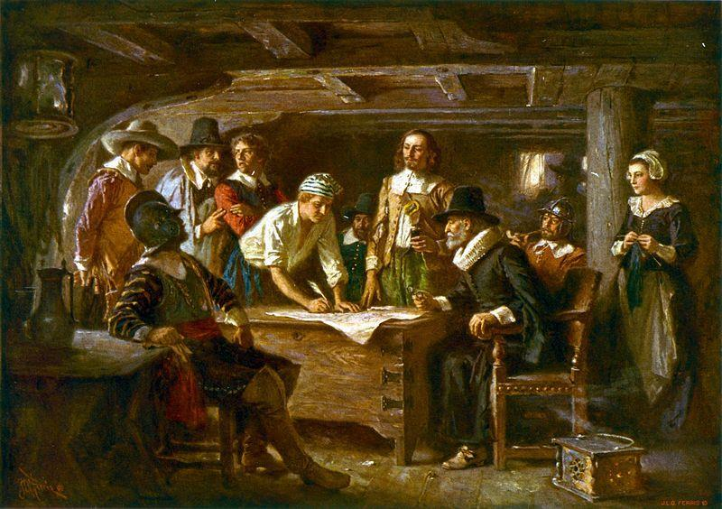 2. REPRESENTATIVE GOVERNMENT Both the Mayflower Compact and the Fundamental Orders of