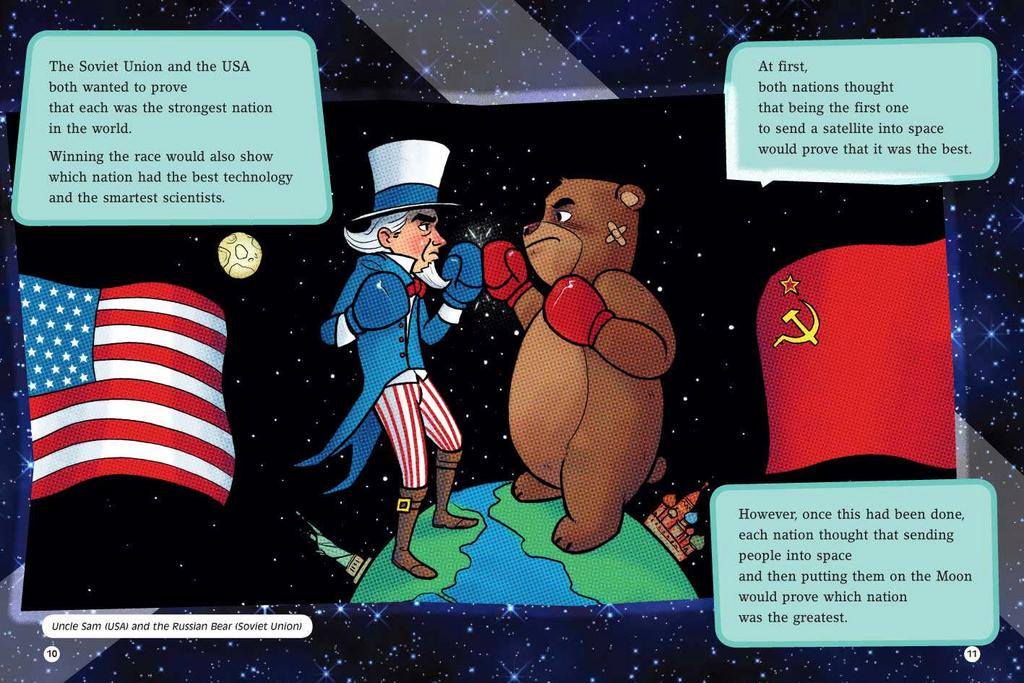 The Space Race The United States and the Soviet Union both recognized the need to conquer space travel.