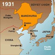 Where in the world is Manchuria?