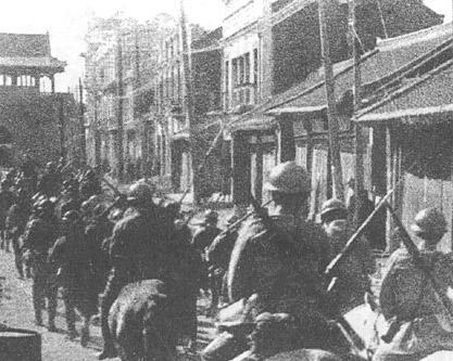 Kwantung Army Acts In retaliation, the Kwantung Army stationed in Manchuria attacks Chinese