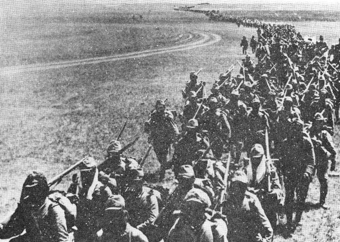 Neutrality with Soviets Japan initially coveted Soviet lands as well. However they were defeated in battles at Changkufeng & Nomonhan.