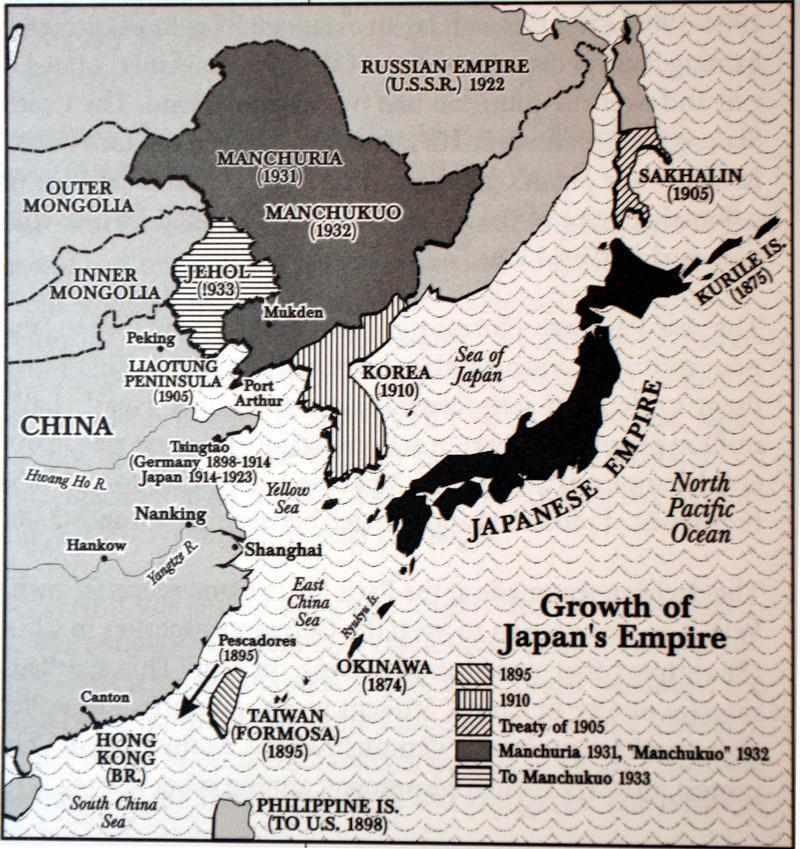 Japanese Imperialism before 1930 1 st Sino-Japanese War (1894-95) Gained Formosa or Taiwan Russo Japanese War (1905) Gained Port Arthur in