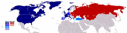 Outcomes of World War II Forma4on of North Atlan4c Treaty Organiza4on (NATO) (Western