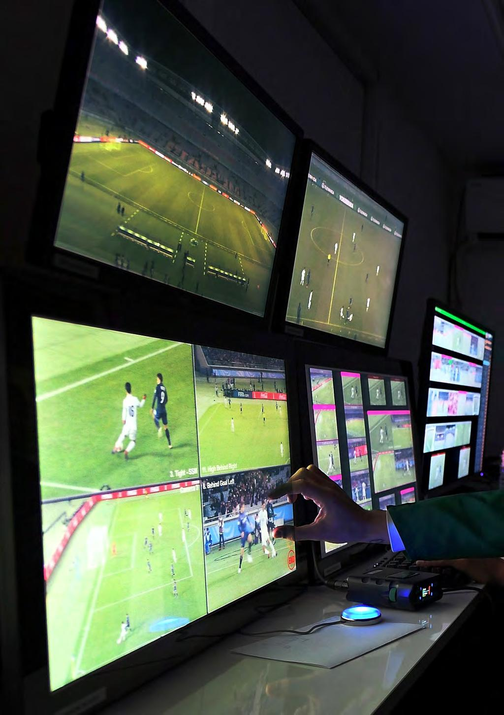 INNOVATION OPENING NEW HORIZONS Video assistant referee (VAR) OUR BELIEF Every single day, many new