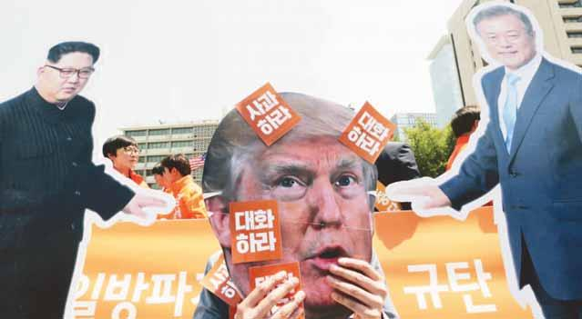 world 11 North Korea open to US talks any time despite Trump axing summit AFP n SEOUL orth Korea said on Friday Nit is willing to talk to the United States at any time after President Donald Trump