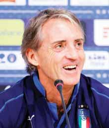 "When he was very young he was already a great player, then maybe he didn't continue as he was at the beginning,"" said Mancini, who worked with Balotelli at Inter Milan and Manchester City."