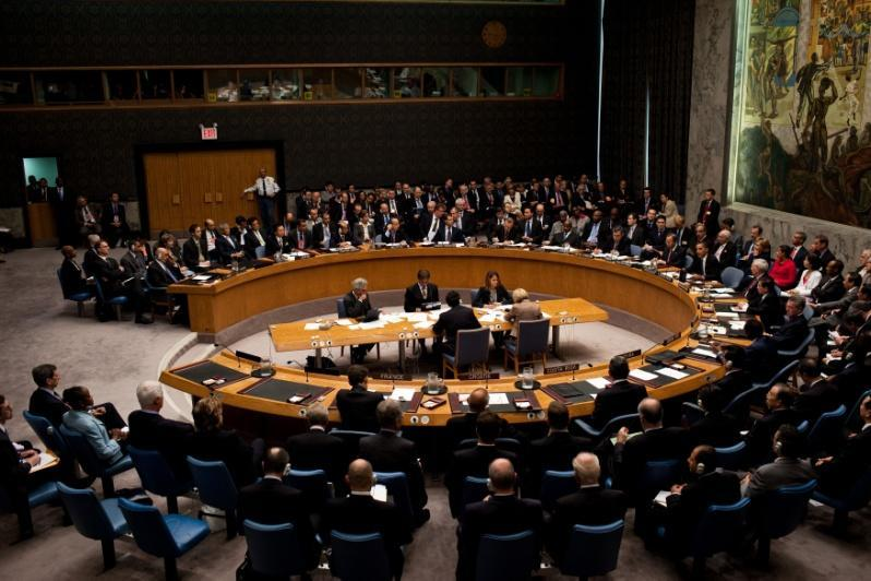 (General Assembly) Security Council- 13 members, SC has the power to send troops from