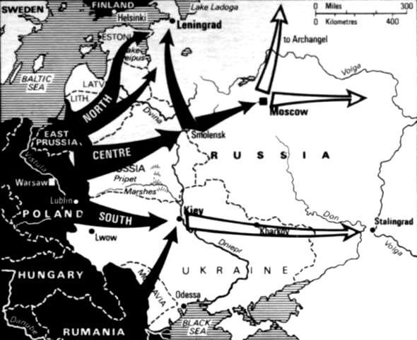 Ameicans) Soviets never want to be invaded again