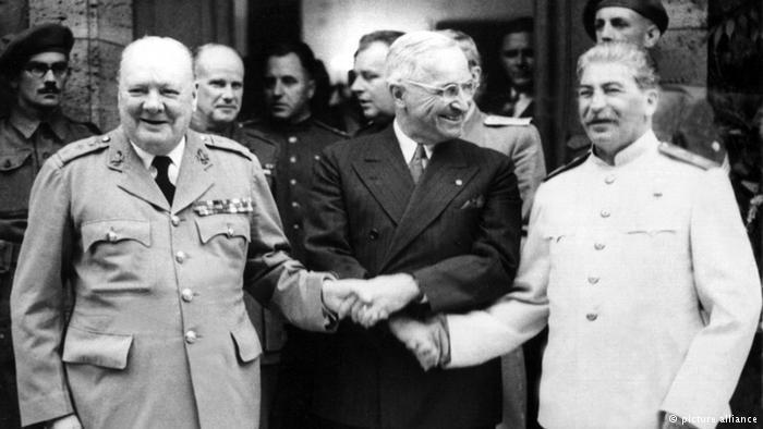 to be a world power like the US End of Allied Unity- US and Soviets fought together in WWII *alliance